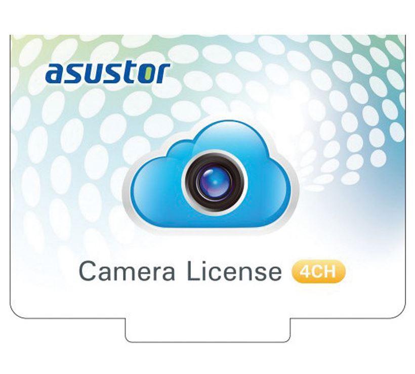 Asustor NVR 4 Channel Camera Licenses for Surveillance Center Digital Version