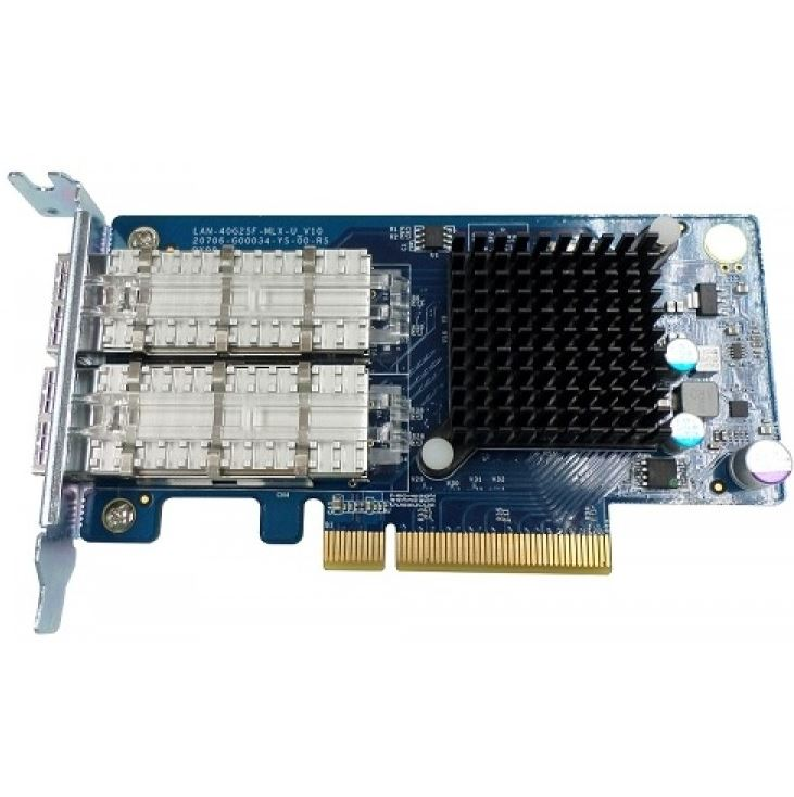 QNAP LAN-10G2SF-MLX Dual-port 10GbE SFP+ Network Expansion Card for QNAP TS-879, TS-EC880, TVS-471, TVS-671, TVS-871