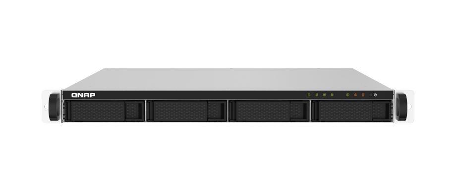 QNAP TS-432PXU-2G 4 Bay NAS AL324 64-bit ARM® Cortex-A57 quad-core 1.7GHz 2 GB DDR4 Hot-swappable 2x2.5GbE 2x10GbE SFP+ 1U 1xPCIe Gen 4xUSB3.2 3YR WTY