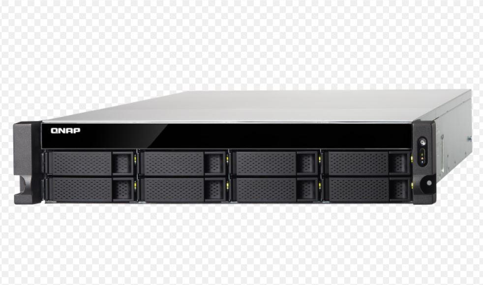 QNAP TS-873U-4G,8BAY NAS(NO DISK), RX-421ND, 4GB,10GbE, SFP+ 2,GbE x 4, M.2 x2 , 2U, 2 Years Warranty