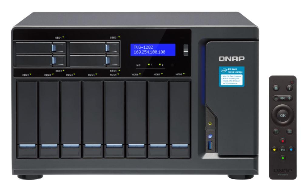 QNAP TVS-1282-I7-64G  12 Bay NAS