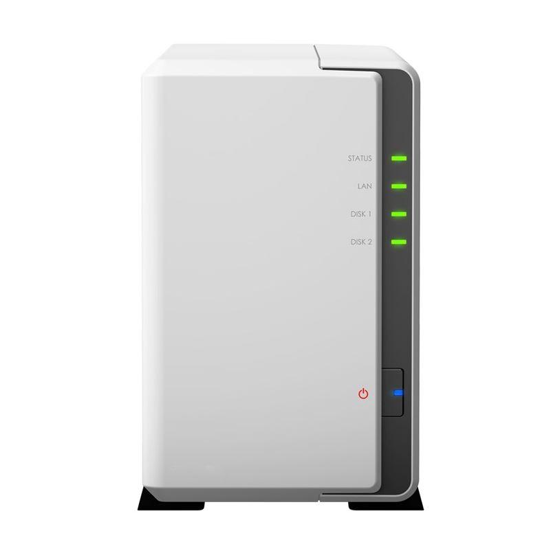 Synology DiskStation DS220J 2-Bay 3.5' Diskless 1xGbE NAS (Tower) , Realtek RTD 1.4GHz, 512MB RAM DDR4, 2 x USB3.0, 2 Yr Wty ~BASY-DS218J