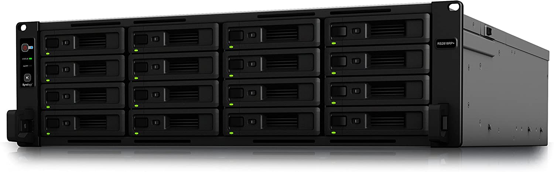 Synology RackStation RS2818RP+ 16-Bay 3.5' Diskless 4x1GbE RJ45 (3U Rack),Intel Atom C3538 quad-core 2.1GHz,4GB DDR4,2xUSB3,1xExpansion - SRS!