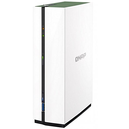 QNAP NAS TS-128A, 1-Bay, 3.5' SATA3 Diskless, Home/SOHO, Tower, 4-Core CPU, GBLan(1), 1GB RAM