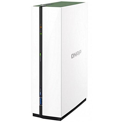 QNAP NAS TS-128A, 1-Bay, 3.5' SATA3 Diskless, Home/SOHO, Tower, 4-Core CPU, GBLan(1), 1GB RAM