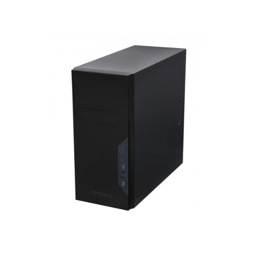 Antec VSK3000B-U3 Micro ATX Case. 2x USB 3.0 Thermally Advanced Builder's Case. 1x 92mm Fan. All Black Version. Two Years Warranty