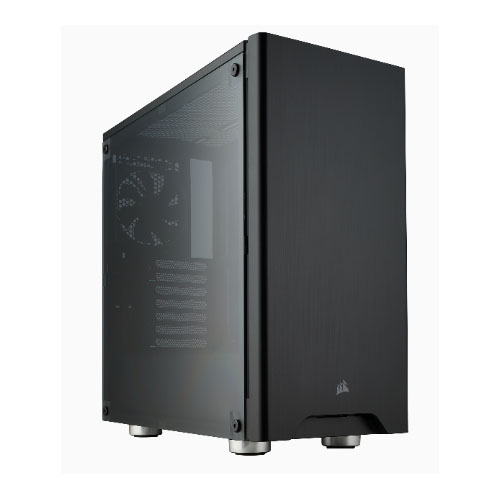 Corsair Carbide 275R Black ATX Mid-Tower Case. Side Window. No Top magnetic mesh filter. Two Years Warranty