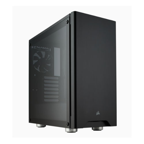 Corsair Carbide 275R Black, Tempered Glass Solid ATX Mid-Tower Case.