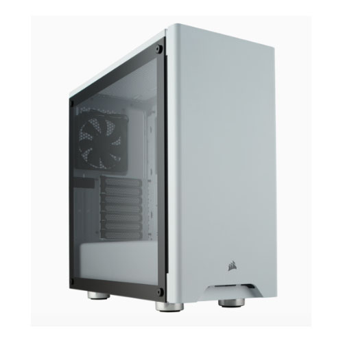 Corsair Carbide 275R White,Tempered Glass Solid ATX Mid-Tower Case.