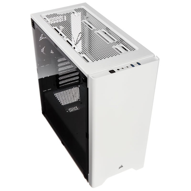 Corsair Carbide 275R White ATX Mid-Tower Case. Side Window. No Top magnetic mesh filter. Two Years Warranty