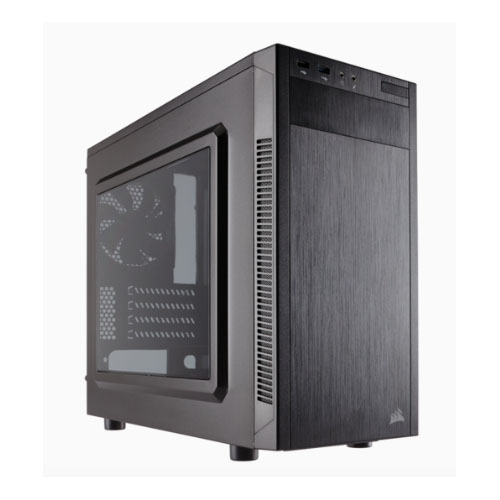 Corsair 88R mATX Mid-Tower Case USB3.0+2.0 1x12cm Fan (LS)