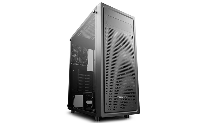 Deepcool E-Shield E-ATX PC Case, Tempered Glass Side Panel