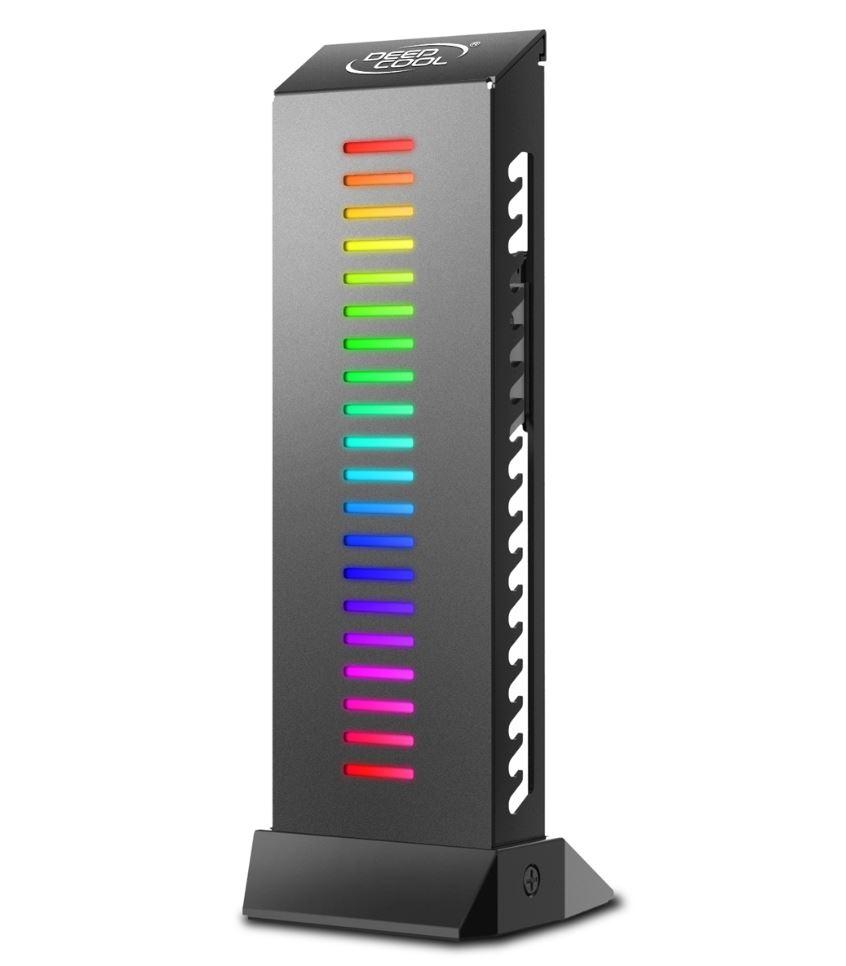 Deepcool GH-01 A-RGB Customizable Addressable RGB LED Lighting Graphics Card Holder / Video Card Holder / VGA Card Holder