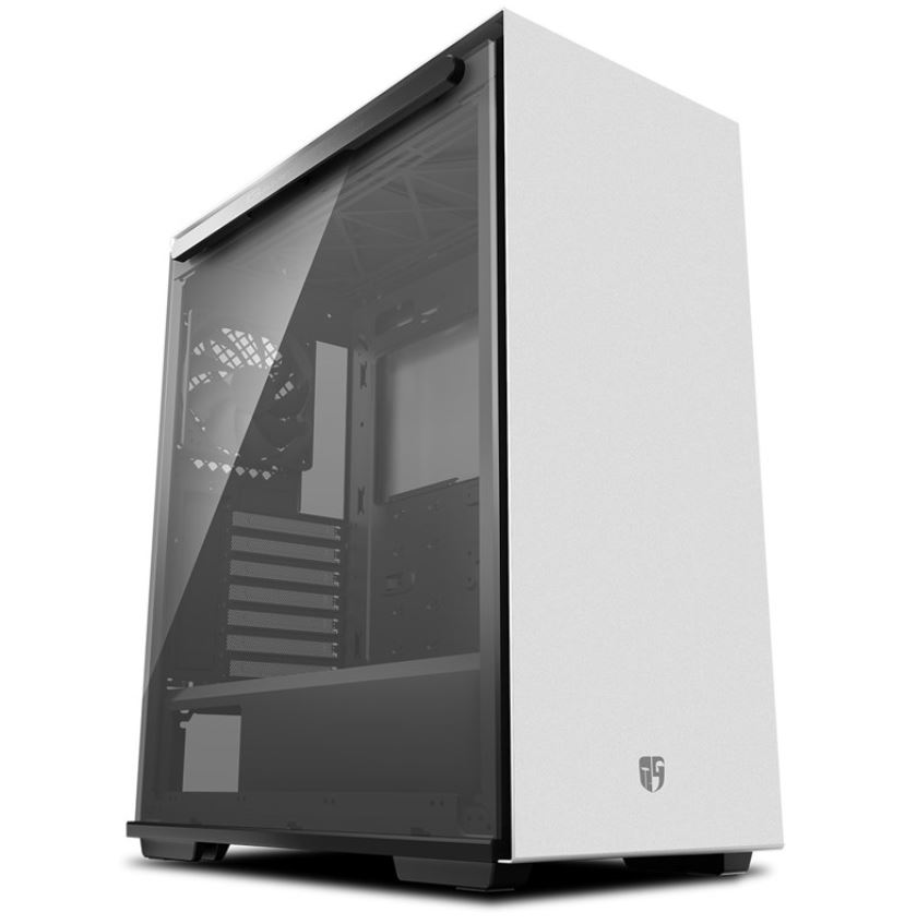 Deepcool MACUBE 310 WH Tempered Glass Case White USB3.0*2, 7+2 SLOTS,Mini-ITX/mATX/ATX