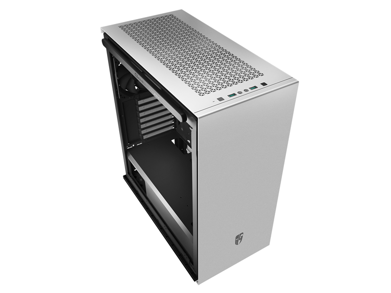 Deepcool MACUBE 310P BK Tempered Glass Case White USB3.0*2, 7+2 SLOTS,Mini-ITX/mATX/ATX. MESH TOP PANEL