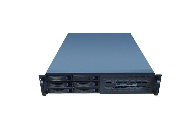 TGC Rack Mountable Server Chassis 2U 550mm Depth, 6x Ext 3.5' Bays, 3x Int 3.5' Bays, 7x Low Profile PCIE Slots, ATX MB, 2U PSU
