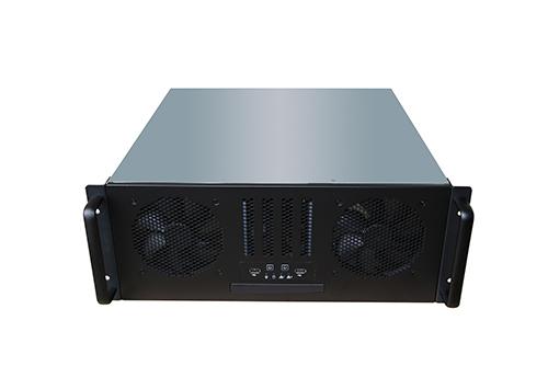 TGC Rack Mountable Server Chassis 4U 450mm Depth, 4x Int 3.5' Bays, 1x 2.5' Bay/Slim Optical, 7x Full Height PCIE Slot, ATX PSU/MB