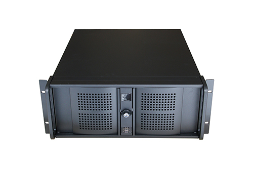 TGC Rack Mountable Server Chassis 4U 480mm Depth, 3x Ext 5.25' Bays, 6x Int 3.5' Bays, 7x Full Height PCIE Slots,  ATX PSU/MB