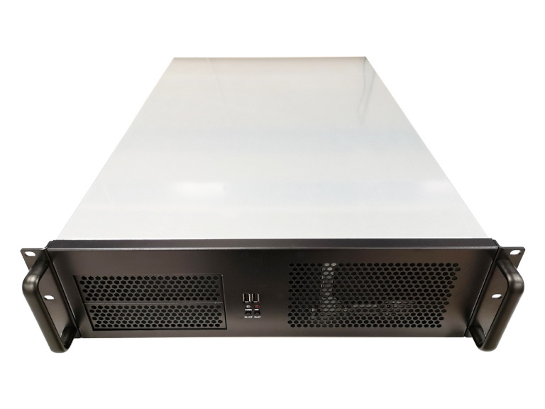 TGC Rack Mountable Server Chassis 3U 650mm Depth. 8x Int 3.5' Bays, 2x Int 2.5' Bays, 2x Ext 5.25' Bays. 7x Full Height PCIE Slots, ATX PSU/MB
