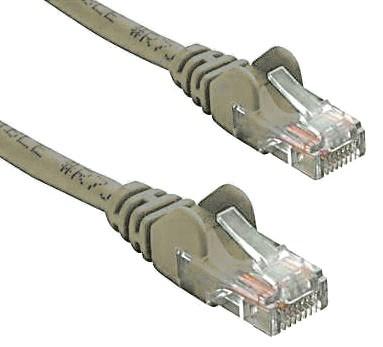 8Ware RJ45M - RJ45M Cat5e UTP Network Cable 0.5m(50cm) Grey