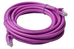 8Ware Cat6a UTP Ethernet Cable 5m SnaglessPurple
