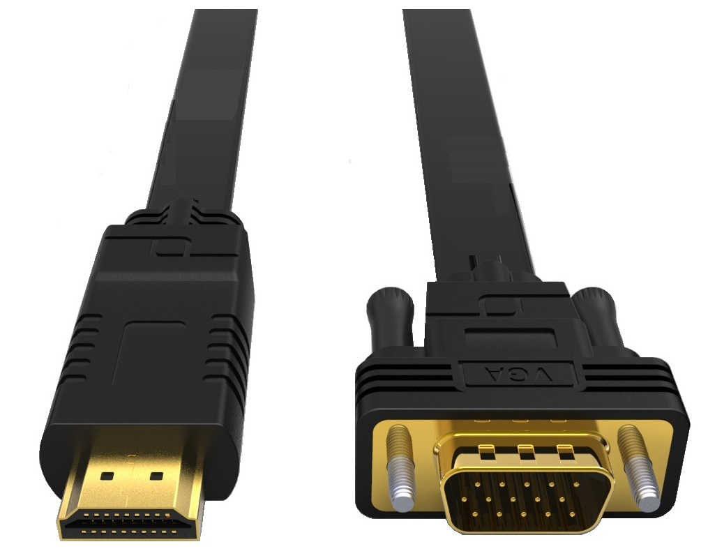 8Ware HDMI to VGA Converter Cable 2m Male to Male