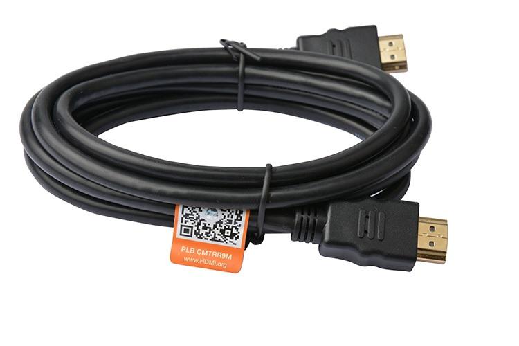 8Ware Premium HDMI 2.0 Certified Cable 3m Male to Male - 4Kx2K @ 60Hz (2160p)