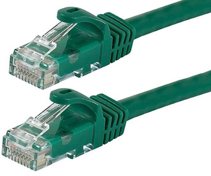 Astrotek CAT6 Cable 2m - Green Color Premium RJ45 Ethernet Network LAN UTP Patch Cord 26AWG-CCA PVC Jacket