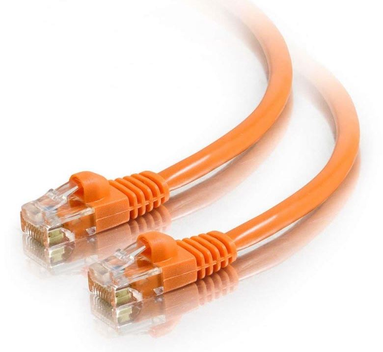 Astrotek CAT6 Cable 1m - Orange Color Premium RJ45 Ethernet Network LAN UTP Patch Cord 26AWG-CCA PVC Jacket