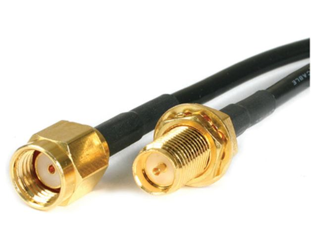 Astrotek 3m WiFi RP SMA Male to RP SMA Female Extension Cable LS