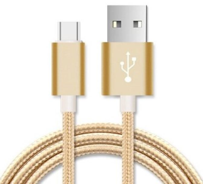 Astrotek 5m Micro USB Data Sync Charger Cable Cord Gold Color for Samsung HTC Motorola Nokia Kndle Android Phone Tablet & Devices