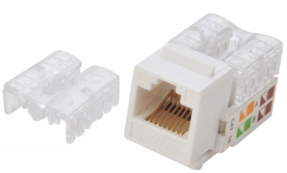 Astrotek CAT6 UTP Outlets Network Keystone Jack for Socket kit 10pcs per pack Poly Bag White LS
