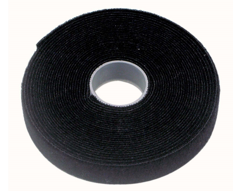 Cabac 19mmx25m Roll Black Reusable Pro Cable Tie LS