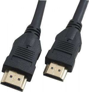 Hypertec HDMI Cable 5m - V1.4 19pin M-M Male to Male Gold Plated 3D 1080p Full HD High Speed with Ethernet - >CBAT-HDMI-MM-5