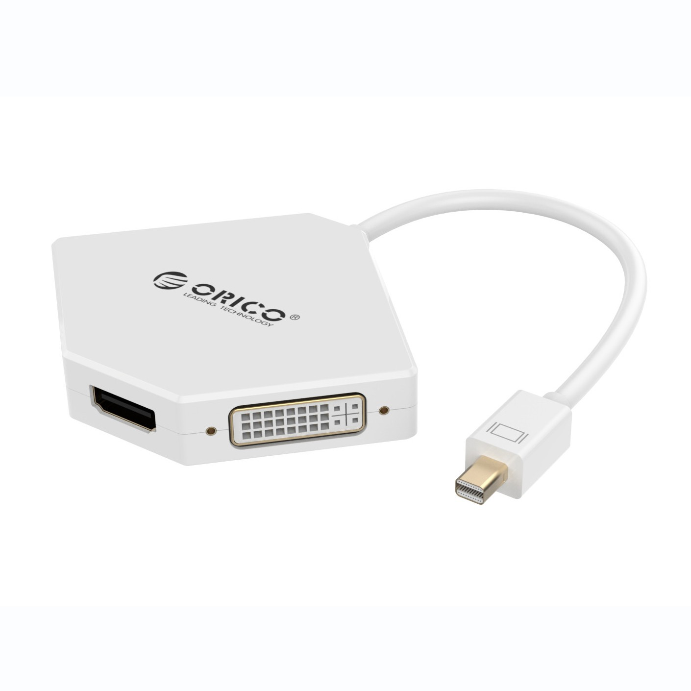 Orico 4K Mini Display Port to HDMI/DVI/VGA Adapter
