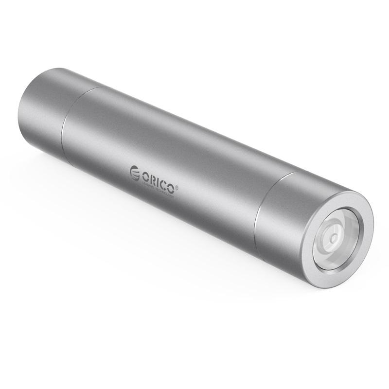 Orico 3350mah Power Bank - Micro USB Input - Compact Size - Silver