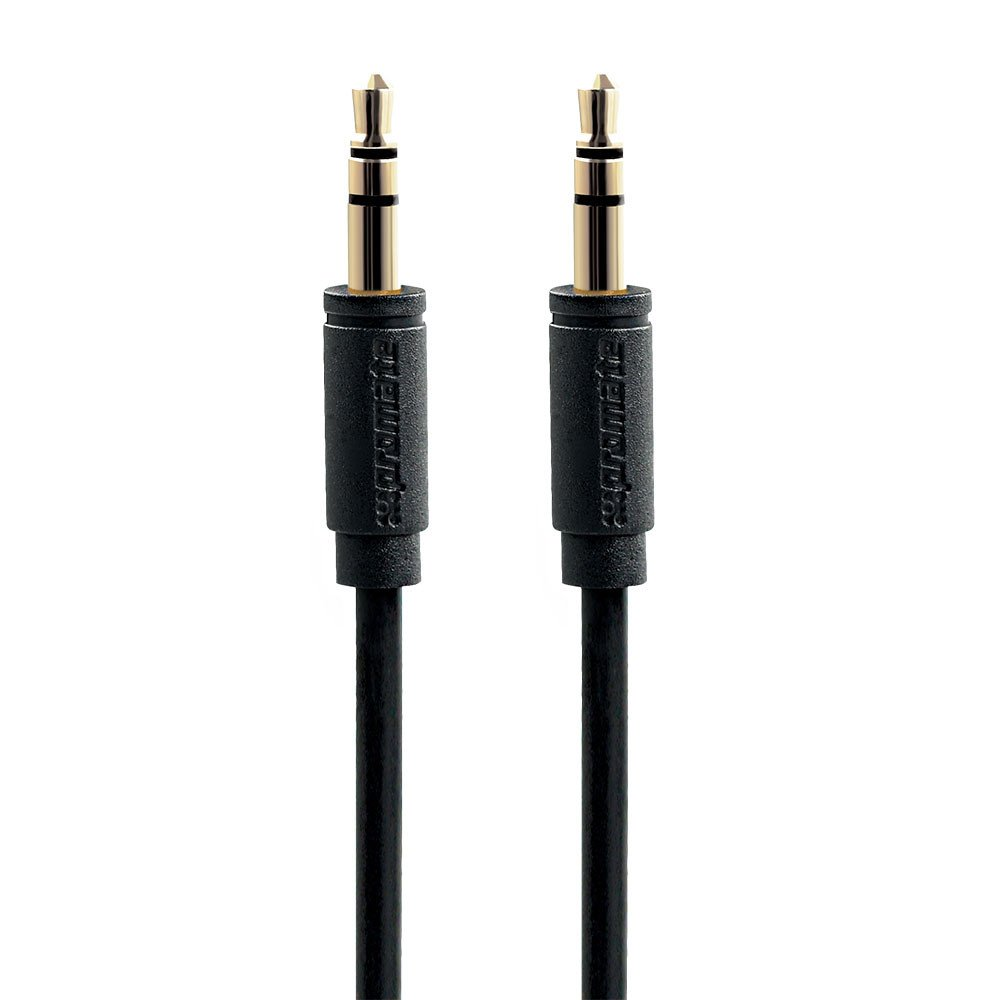 Promate 'LinkMate-A1' Premium 3.5mm flexShield™ PVC coated copper Audio Cable, 1.5m