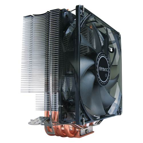 Antec C400 Air CPU Cooler 120mm PWM Blue LED 77 CFM, Intel 775, 115X, 1366, 2011, 2066, AMD: AM2, AM2+, AM3, AM3+, FM1, FM2, FM2+ 3 Years Wty (LS)