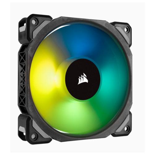 Corsair ML120 PRO RGB, 120mm Premium Magnetic Levitation RGB LED PWM Fan 12-75 CFM, Single Pack