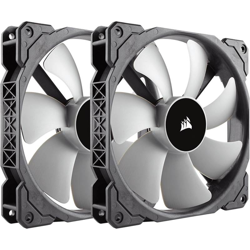 Corsair ML140 140mm Premium Magnetic Levitation Fan — Twin Pack