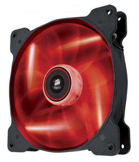 Corsair SP 140mm Fan, Red LED High Static Pressure 3 PIN (LS)