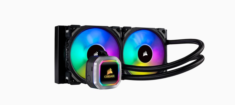 Corsair Hydro Series H100i 240mm RGB PLATINUM Liquid CPU Cooler. 5 Years Warranty. Intel 1200, 1150x, 2011, 2066, AM3, AM2, AM4, TR4, sTRX4, sTR4