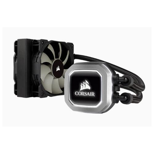 Corsair H75v2 120mm High Performance Liquid CPU Cooler  2x SP PWM 12CM Fan. 5 Years Warranty Intel 1200, 115x, 2011/2066, AMD AM3/AM2, AMD AM4(LS)