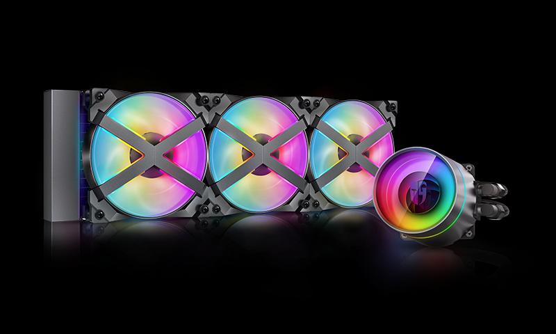 Deepcool GamerStorm CASTLE 360EX RGB CPU Liquid Cooler Intel LGA2066/2011-v3/2011/LGA1200/1151 AMD TRX4/TR4/AM4/AM3+/AM2+/FM2+