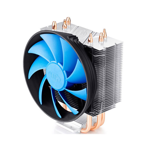 Deepcool Gammaxx 300 CPU Cooler 3 Heatpipes, 120mm PWM Fan Intel 130W LGA1366/115X/1200/775 AMD AM4 AM3+ AM3 AM2+ AM2 FM2+ FM2 FM1