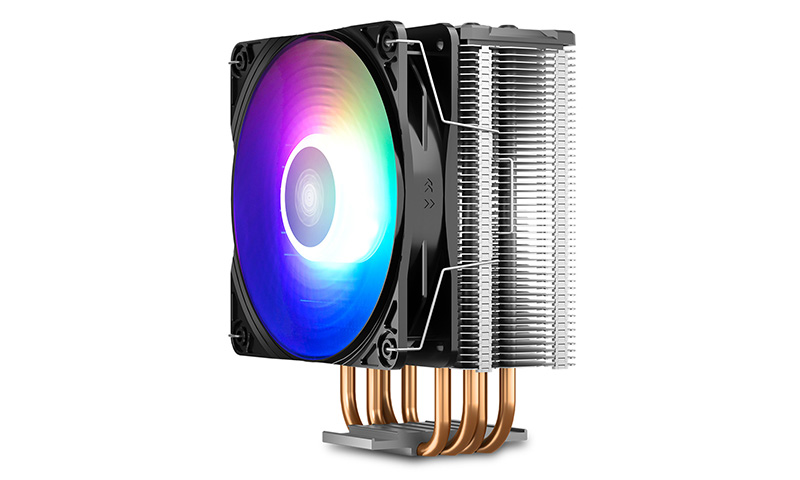 Deepcool Gammaxx GT Addressable RGB CPU Cooler Intel LGA2066/2011-v3/2011/LGA1200/1151/1150/1155AMD AM4/AM3+/AM3/AM2+/AM2/FM2+/FM2/FM1