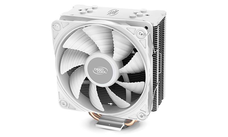 Deepcool Gammaxx GTE V2 White Non RBG CPU Cooler Intel LGA1200/1151/1150/1155/1366 AMD AM4/AM3+/AM3/AM2+/AM2/FM2+/FM2/FM1