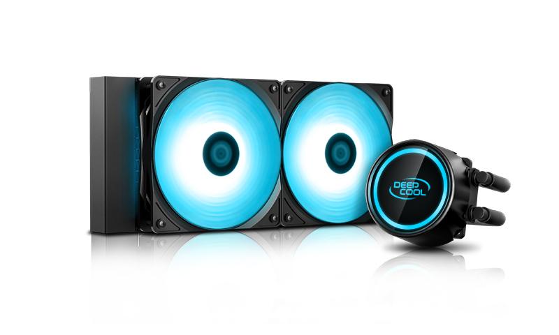 Deepcool GAMMAXX L240T BLUE Intel LGA20XX/1366/115X/1200 AMD AM4 AM3+ AM3 AM2+ AM2 FM2+ FM2 FM1