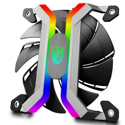 Deepcool Gamerstorm MF120 120mm Aluminium RGB Fan 3 in 1