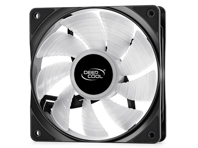 Deepcool RF120 3 In 1 Pack High Brightness RGB LED Fans, 120mm